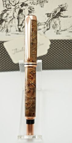 Hand turned Wooden Pen Handcrafted from by MikesPenTurningZ, $69.00