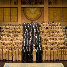 Brooklyn Tabernacle Choir - sang with them once...experience of a lifetime