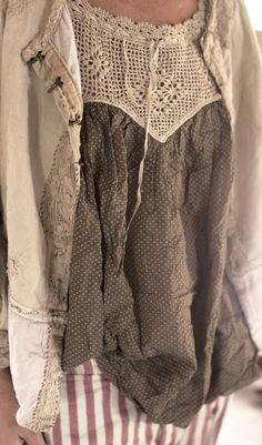 Muy lencera y de moda summer collection, pretty outfits, boho outfits, vint Mode Hippie, Mode Boho, Boho Outfits, Pretty Outfits, Vintage Outfits, Stylish Outfits, Altered Couture, Bohemian Style, Boho Chic