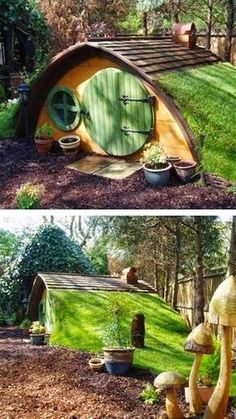 A Real Life Hobbit Hole -