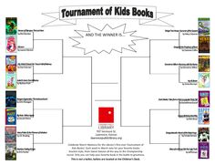 Tournament of Kids Books 2012- use during march madness!!!