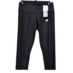 591b68bcb133 adidas Pant Performer Mid Rise AIS Capri Midnight Grey Women s size S NWT   adidas Adidas