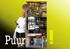 """kookcultuur in voormalig oud garage pand in Helmond. """"Kookstudio PUUR!"""" Dirk van Schalen"""