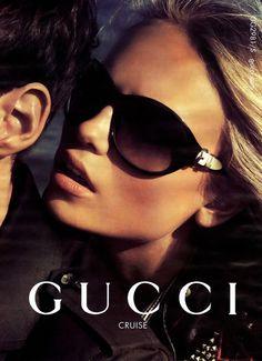 Natasha Poly for Gucci Ad campaign Cruise 2007