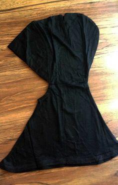 black ninja underscarf flat $9.99 Hijab Style, Abaya Fashion, Abayas, Head And Neck, Hijabs, Hobbies And Crafts, Scarfs, How To Introduce Yourself, Ninja