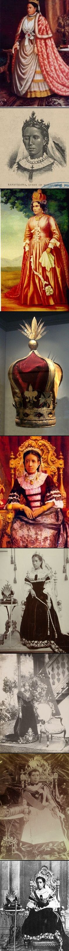 Ranavalona III (November 22, 1861 – May 23, 1917) was the last sovereign of the Kingdom of Madagascar. She ruled from July 30, 1883 to February 28, 1897 in a reign marked by ongoing and ultimately futile efforts to resist the colonial designs of the government of France. As a young woman she was selected from among several andriana (nobles) qualified to succeed Queen Ranavalona II upon her death.