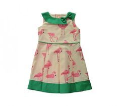LOVELY MARIQUITA  JURK Green Flamingo