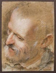 Federico Barocci, 1535 - 1612, pastel