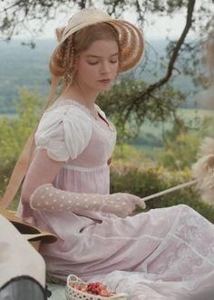 Jane Austen Movies, Emma Jane Austen, Emma Woodhouse, Emma Movie, Anya Taylor Joy, Romance, 20th Century Fashion, Princess Aesthetic, Film Aesthetic