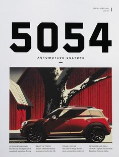 5054 automotive culture magazine (UK)