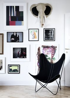 Line Klein photography and Yvonne Koné visit