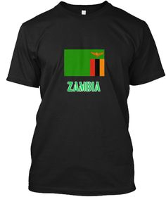Zambia Flag Stencil Green Design Black T-Shirt Front - This is the perfect gift for someone who loves Zambia. Thank you for visiting my page (Related terms: I Heart Zambia,Zambia,Zambian,Zambia Travel,I Love My Country,Zambia Flag, Zambia Map,Zambia Languag #Zambia, #Zambiashirts...)