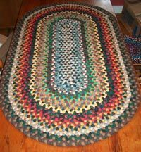 Adirondack Camp Rug These are the colors! Jute Rug, Woven Rug, Braided Rag Rugs, Homemade Rugs, Cool Rugs, Wool Area Rugs, Rug Making, Vintage Rugs, Colorful Rugs