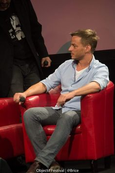Tom Wlaschiha at the Sci Fi show event October 2015 From objectif Festival