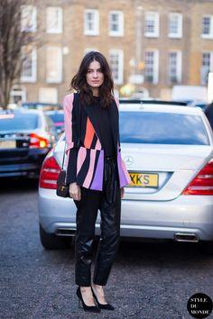 Leila Yavari ... elegant as always
