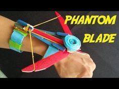 How to make a Paper Ninja Star (Shuriken) | Cyclone Tri-blade Thrower - YouTube