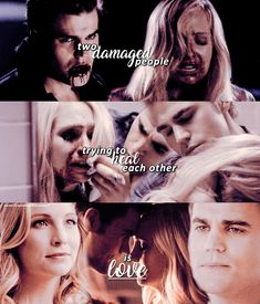 """241 Likes, 45 Comments - the vampire diaries® (@carolinesenthusiast) on Instagram: """"— steroline✨ . – oml this quote suits them SO well. He was always there for her and vice versa.…"""""""
