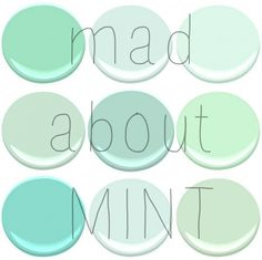 Colors to look into: BENJAMIN MOORE light pistachio, soft mint, leisure green and mantis green Color Menta, Mint Color, Green Colors, Mint Paint Colors, Mint Blue, Teenage Girl Bedrooms, Big Girl Rooms, Girls Bedroom, Benjamin Moore