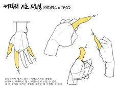 In hand gestures, the thumb, index finger, and little finger may appear awkward even when moved individually. Manga Drawing Tutorials, Drawing Techniques, Art Tutorials, Drawing Sketches, Art Drawings, Hand Drawing Reference, Art Reference Poses, Anatomy Reference, Main Manga