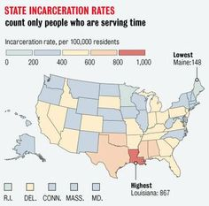 "Imprisonment in Louisiana: ""First in the World"" (click thru for analysis)-via @Sociological Images"