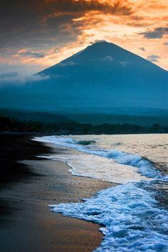 Mt. Agung, Bali by Edmund Lowe