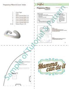 Pregnancy Pillow Pattern - MammaCanDoIt - Sewing Pattern - 8
