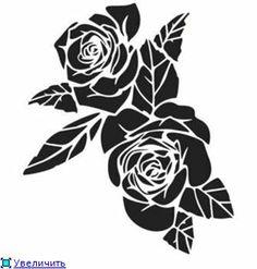 Коллекция растительных мотивов - трафаретов для вашего творчества!. Обсуждение на LiveInternet - Российский Сервис Онлайн-Дневников