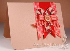 Easy Faux Ribbon Cards from Anna Wight