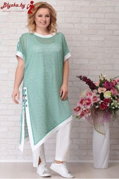 A collection of women's clothing of large sizes of the Belarusian company Aira Style summer 2019 Pakistani Dresses Casual, Pakistani Dress Design, Women's Dresses Casual, Pakistani Fashion Casual, Maxi Dresses, Stylish Dresses For Girls, Stylish Dress Designs, Kurta Designs Women, Blouse Designs