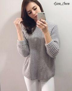 Aliexpress, Обзор на теплющий свитер в стиле - http://aliotzyvy.ru/aliexpress-obzor-na-teplyushhij-sviter-v-stile/