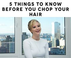 Jennifer Lawrence. Thinking of getting a pixie cut? Read this before you do ANYTHING.