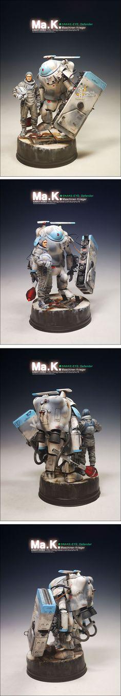 Ma.K SNAKE-EYE DEFENDER