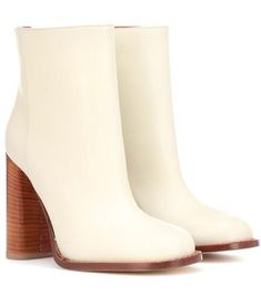 4089bf7f355 Marni Leather Ankle Boots Leather Ankle Boots, Calf Leather, Who What Wear,  Marni