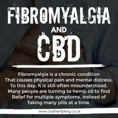 Fibromyalgia is a chronic condition that causes physical pain and mental distress. To this day, it is still often misunderstood. Many people are turning to hemp oil to find relief for multiple symptoms, instead of taking many pills at a time. Physical Pain, Hemp Oil, Fibromyalgia, Pills, Turning, Physics, Conditioner, King, Day