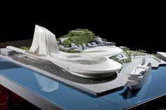 Asymptote Architecture: Keelung Gateway Port Terminal, Taiwan