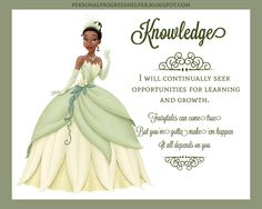 Young Women's Values with Disney Princesses: Knowledge