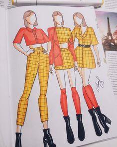 Fashion Drawing Tutorial, Fashion Illustration Tutorial, Fashion Figure Drawing, Fashion Drawing Dresses, Fashion Illustration Dresses, Dress Design Drawing, Dress Design Sketches, Fashion Design Sketchbook, Fashion Design Portfolio