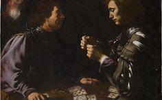 Card Players by Antiveduto Gramatica (c.1615)