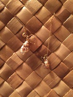 """asymmetry """"Pu'uwai """"earrings"""