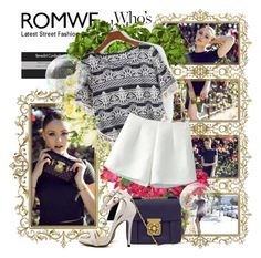 """""""ROMWE 17"""" by fashionmonsters ❤ liked on Polyvore featuring moda, KAROLINA, Jayson Home, Boskke, Chloé ve romwe"""