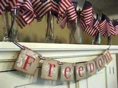 vintage 4th of july decorations - Bing Images