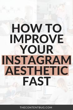 How to Improve Your Aesthetic Fast // The Content Bug -- Instagram Feed Tips, Best Instagram Feeds, Instagram Marketing Tips, Instagram Story Ideas, Photo Instagram, Instagram Aesthetic Ideas, Aesthetic Instagram Accounts, Instagram Shop, Digital Marketing Strategy