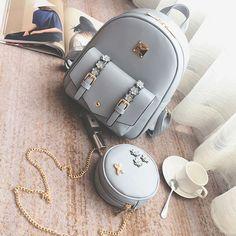 Cute Mini Backpacks, Stylish Backpacks, Girl Backpacks, Lace Backpack, Retro Backpack, Leather Backpack, Fashion Bags, Fashion Backpack, Girls Bags