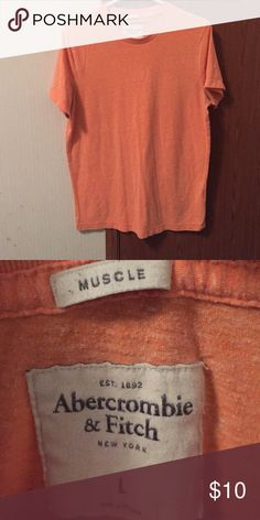 Abercrombie men's muscle tee Size men's large. Like new. Shirts Tees - Short Sleeve