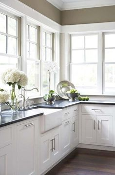 Kitchen trends will come and go, but some things never go out of style.  There's a reason white kitchens are everywhere, they are bright, cheery,  and…