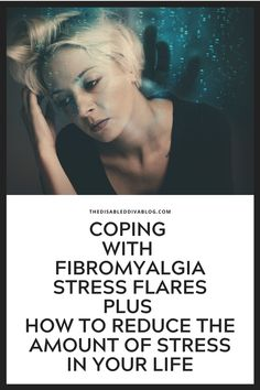 Fibromyalgia stress flares debilitate our mind and body plus disrupt our daily lives. Here's how to cope with them and reduce occurrences. Chronic Fatigue, Chronic Illness, Chronic Pain, Anxiety Relief, Stress Relief, Fibromyalgia Flare, Fibro Flare, What Causes Stress