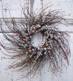 Winter Wreath Christmas Wreath Winter Berry Wreath Holiday