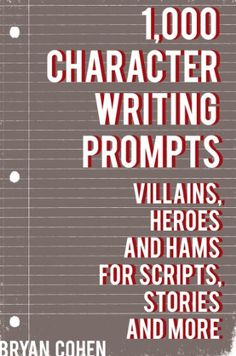 creative writing character development exercises