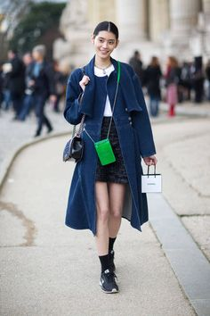 Take a look at the trend setting street style from Paris, here: