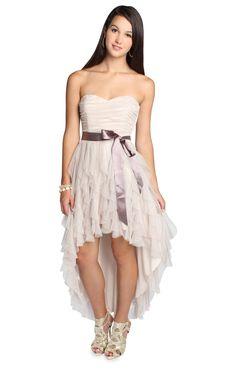 glitter mesh high low junior homecoming dress May be my Homecoming Dress Junior Homecoming Dresses, High Low Prom Dresses, Grad Dresses, Dresses For Teens, Dance Dresses, Bridesmaid Dresses, Wedding Dresses, Bridesmaids, Sweet 16 Dresses